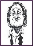 Caricature of Al Aprill